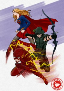 ARROW  FLASH  SUPERGIRL 01